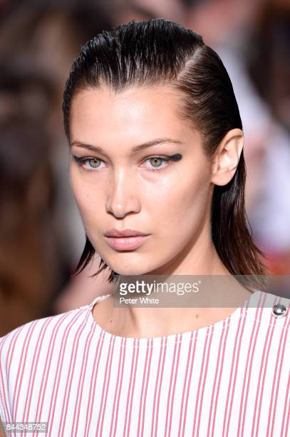 Bella Hadid walks the runway at the Jason Wu show during the New York Fashion Week on September 8 2017 in New York City