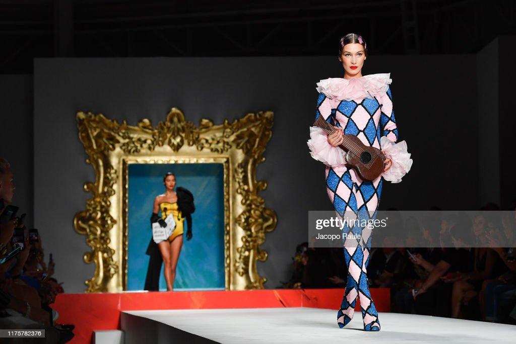 Moschino - Runway - Milan Fashion Week Spring/Summer 2020 : Photo d'actualité