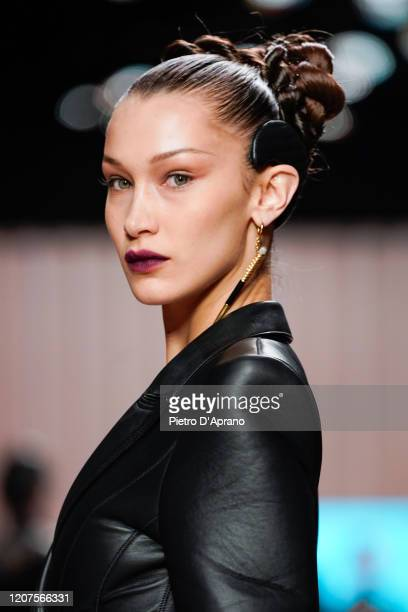 Bella Hadid walks the runway during the Fendi fashion show as part of Milan Fashion Week Fall/Winter 20202021 on February 20 2020 in Milan Italy