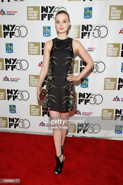 Bella Heathcote attends 'Not Fade Away' Centerpiece Gala Presentation during The 50th New York Film Festival at Alice Tully Hall Lincoln Center on...