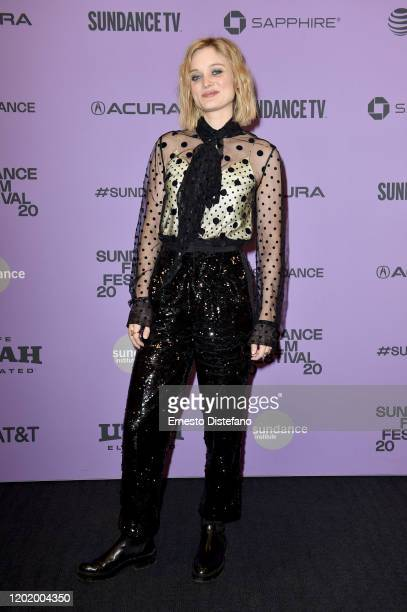 Bella Heathcote attends the 2020 Sundance Film Festival Relic Premiere at The Ray on January 25 2020 in Park City Utah