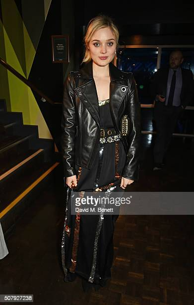 Bella Heathcote attends the after party following the European Premiere of 'Pride And Prejudice And Zombies' at Bounce Ping Pong on February 1 2016...
