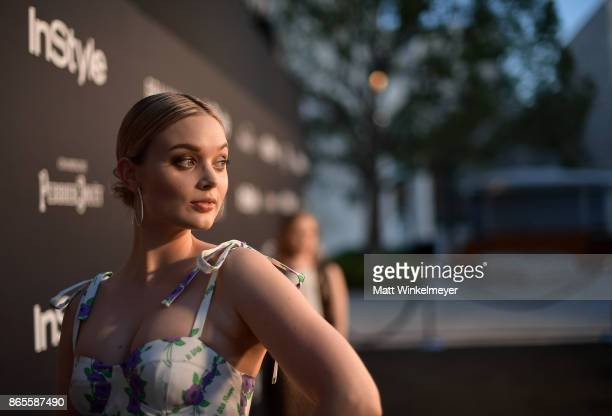 Bella Heathcote attends the Third Annual 'InStyle Awards' presented by InStyle at The Getty Center on October 23 2017 in Los Angeles California