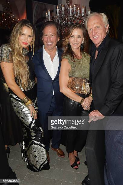Bella Hunter RH Chairman and CEO Gary Friedman Kirsten Norman and Greg Norman attend the private opening celebration of RH West Palm on November 18...