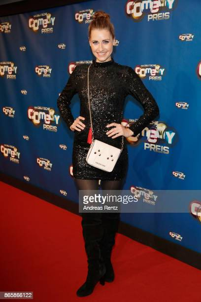 Bella Lesnik attends the 21st Annual German Comedy Awards at Studio in Koeln Muehlheim on October 24 2017 in Cologne Germany