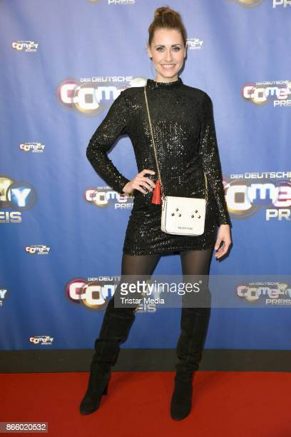 Bella Lesnik attends the German Comedy Awards at Studio in Koeln Muehlheim on October 24 2017 in Cologne Germany