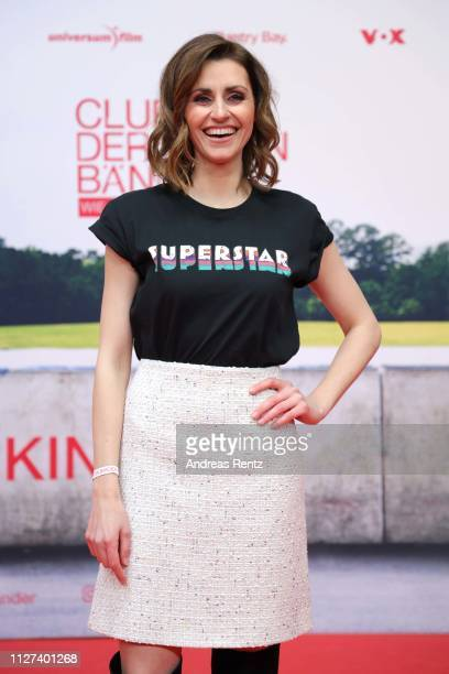 Bella Lesnik attends the German premiere of the film Club der Roten Baender Wie alles begann at Cinedom on February 04 2019 in Cologne Germany