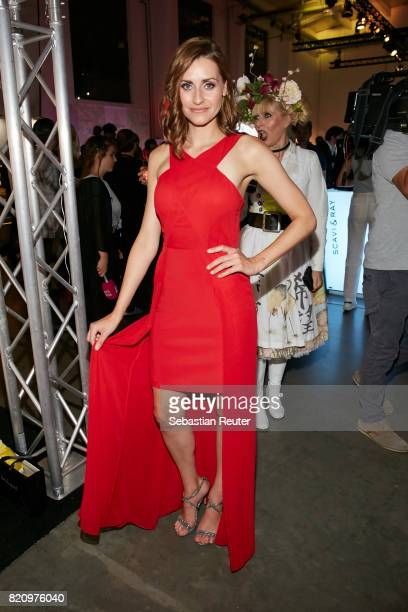 Bella Lesnik attends the Unique after party during Platform Fashion July 2017 at Areal Boehler on July 22 2017 in Duesseldorf Germany