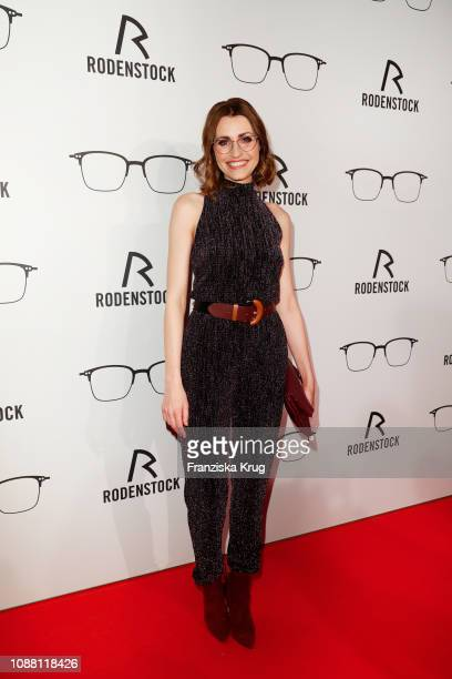 Bella Lesnik during the Rodenstock Eyewear Show 'A New Vision of Style' at Isarforum on January 24 2019 in Munich Germany