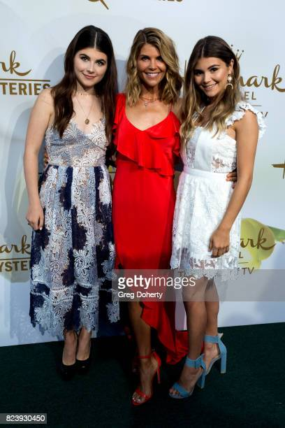 Bella Loughlin Actress Lori Loughlin and Olivia Loughlin arrive for the 2017 Summer TCA Tour Hallmark Channel And Hallmark Movies And Mysteries on...