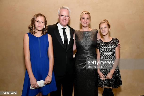Bella Moore Getty Images senior staff photographer/special correspondent and 2018 Lucie Award winner John Moore Melinda Anderson and Sophie Moore...