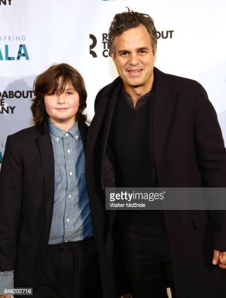 Bella Noche Ruffalo and Mark Ruffalo attend the Roundabout Theatre Company's 2017 Spring Gala Act ii Setting the Stage for Roundabout's Future at the...