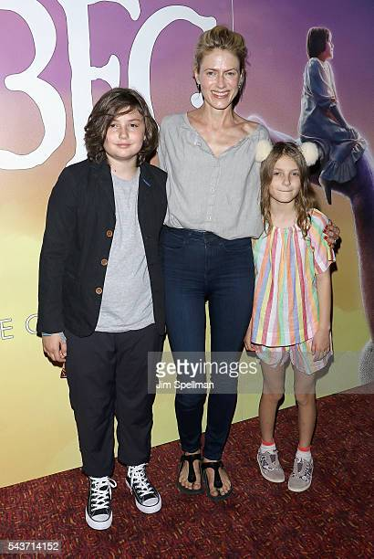 Bella Noche Ruffalo Sunrise Coigney and Odette Ruffalo attend the screening of The BFG hosted by Disney The Cinema Society at Village East Cinema on...