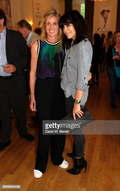Bella Pollen and Claudia Winkleman attend the launch of Bella Pollen's memoirsponsored by PerrierJou't champagne on May 22 2017 in London England