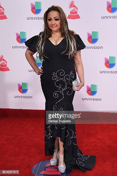 Bella Sanchez attends The 17th Annual Latin Grammy Awards at T-Mobile Arena on November 17, 2016 in Las Vegas, Nevada.