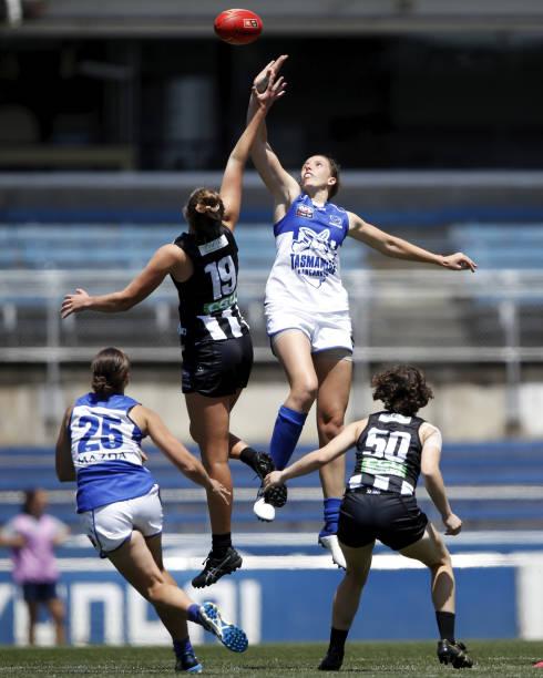 AUS: Collingwood v North Melbourne - AFLW Pre-Season