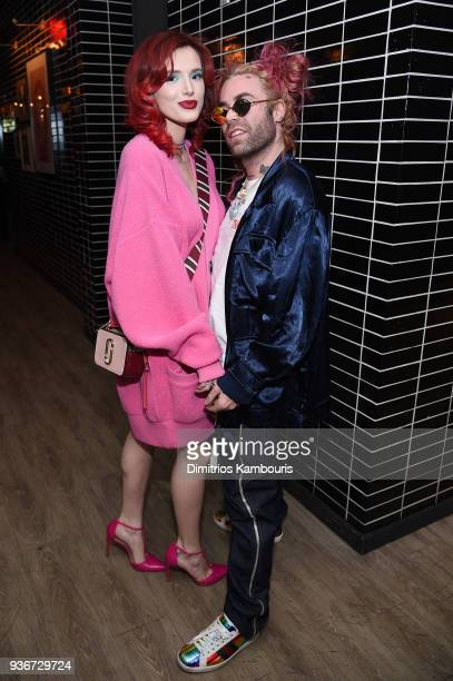 Bella Thorne and Mod Sun attend the after party for the screening of 'Midnight Sun' at The Skylark on March 22 2018 in New York City