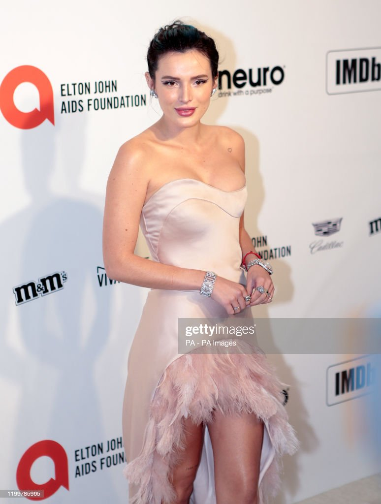 The 92nd Academy Awards - Elton John AIDS Foundation Viewing Party - Los Angeles : News Photo