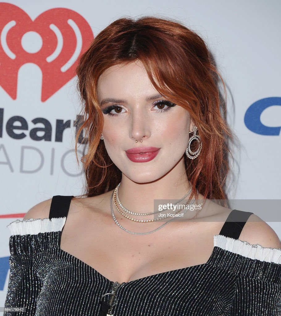 Bella Thorne attends 102.7 KIIS FM's Jingle Ball 2017 at The Forum on December 1, 2017 in Inglewood, California.