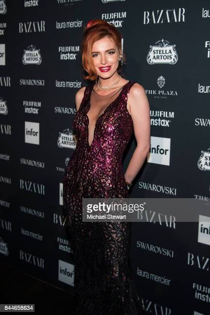 Bella Thorne attends 2017 Harper's Bazaar Icons at The Plaza Hotel on September 8 2017 in New York City