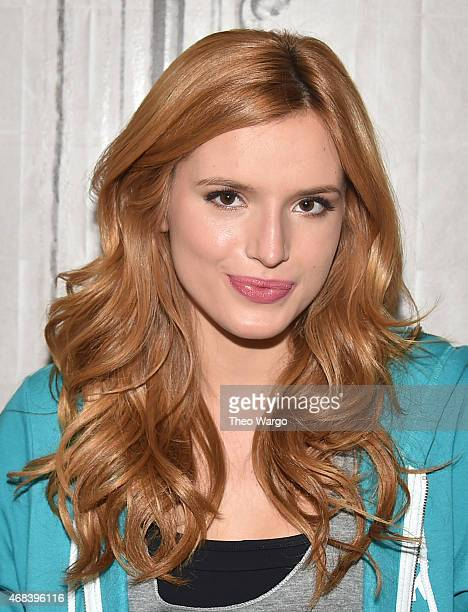 Bella Thorne attends AOL BUILD Speaker Series Bella Thorne Discusses 'Find Your Park' Campaign at AOL Studios In New York on April 2 2015 in New York...