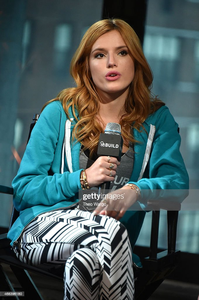 "AOL BUILD Speaker Series: Bella Thorne Discusses ""Find Your Park"" Campaign : News Photo"