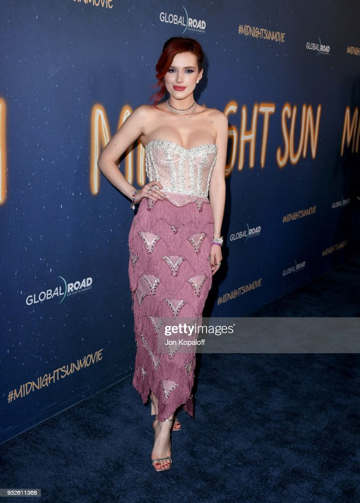 "Global Road Entertainment's World Premiere Of ""Midnight Sun"" - Arrivals"
