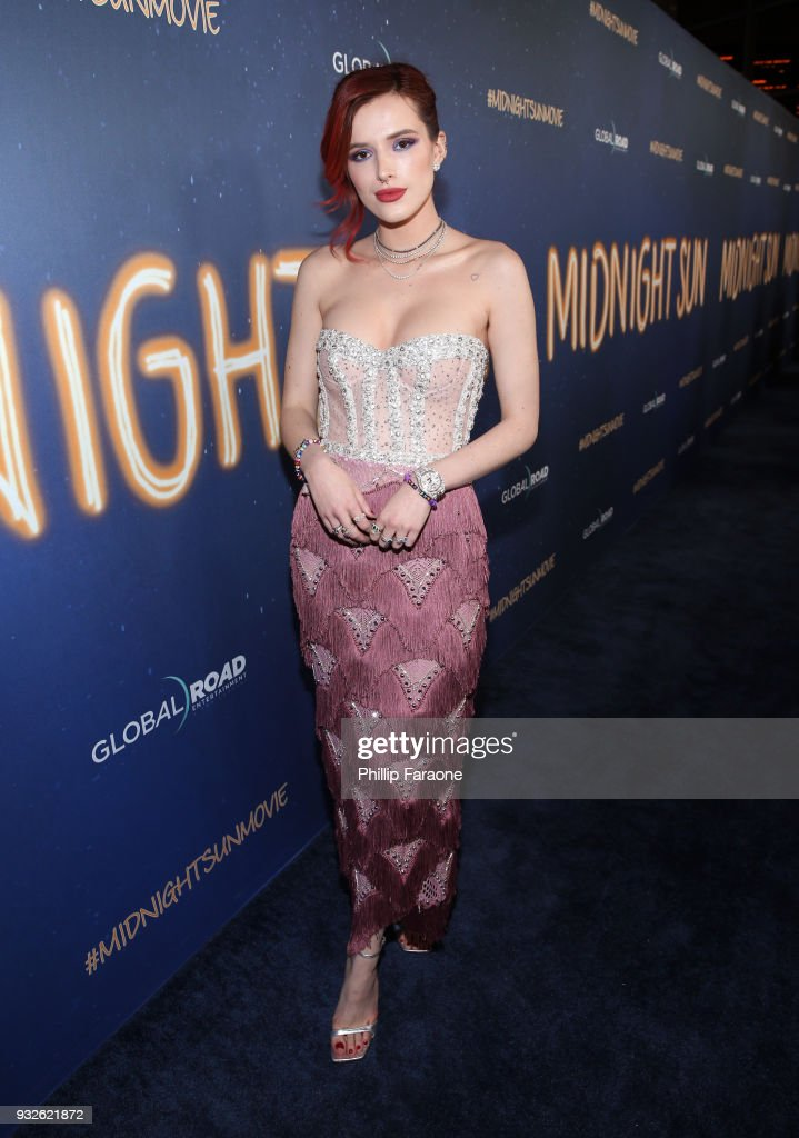 "Premiere Of Global Road Entertainment's ""Midnight Sun"" - Red Carpet"