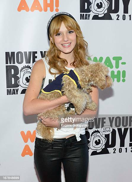 Bella Thorne attends Move Your Body 2013 at Avenues World School on May 1 2013 in New York City