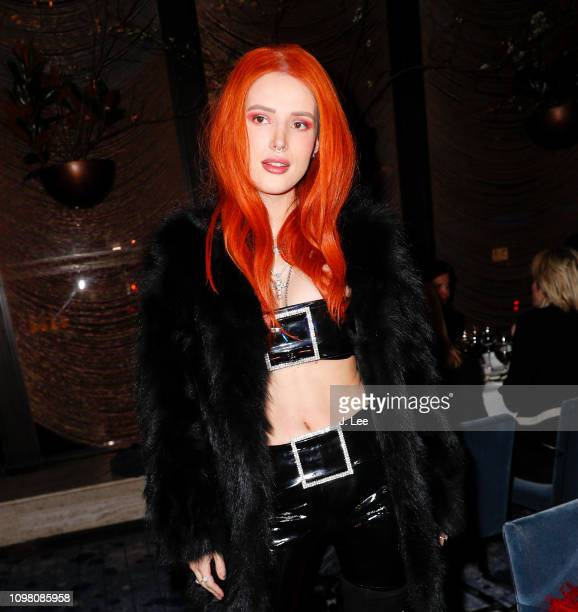 Bella Thorne attends Philipp Plein show on February 11 2019 in New York City