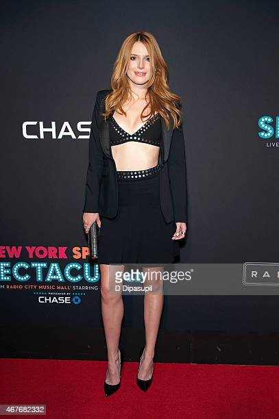 Bella Thorne attends the 2015 New York Spring Spectacular Opening Night at Radio City Music Hall on March 26 2015 in New York City