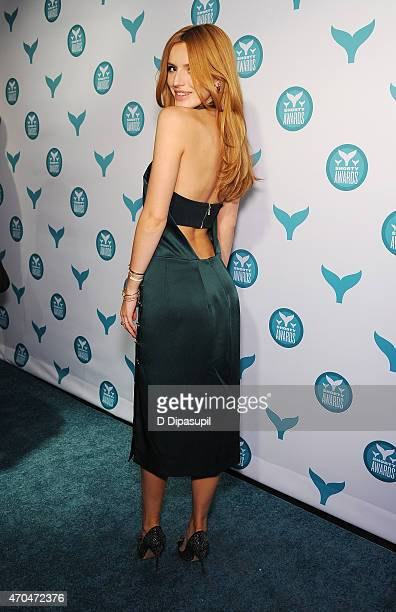 Bella Thorne attends The 7th Annual Shorty Awards on April 20 2015 in New York City