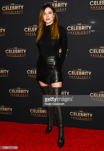 Bella Thorne attends The Celebrity Experience Featuring at Hilton Universal City on January 06, 2019 in Universal City, California.
