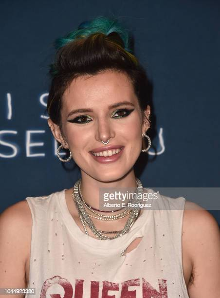 Bella Thorne attends the Collider Special Screening of Lionsgate's 'I Still See You' at ArcLight Sherman Oaks on October 2 2018 in Sherman Oaks...