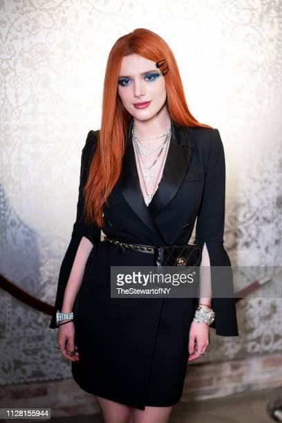 Bella Thorne attends the Daily Front Row Kick Off Party on February 07 2019 in New York City