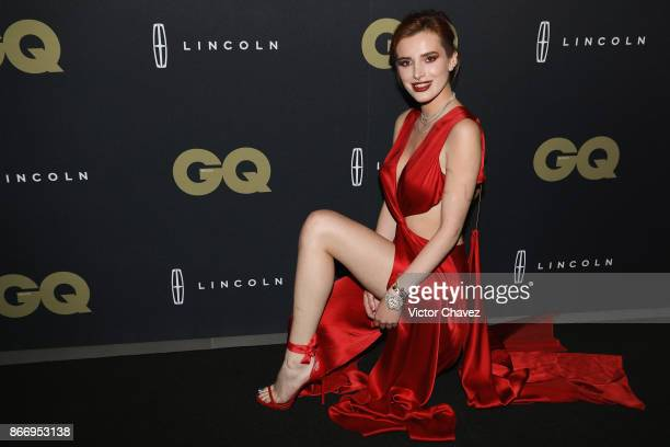 Bella Thorne attends the GQ Mexico Men of The Year Awards 2017 on October 26 2017 in Mexico City Mexico