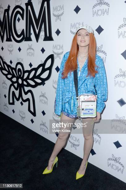 Bella Thorne attends the MCM Rodeo Drive Store Grand Opening Event at MCM Rodeo Drive on March 14, 2019 in Beverly Hills, California.