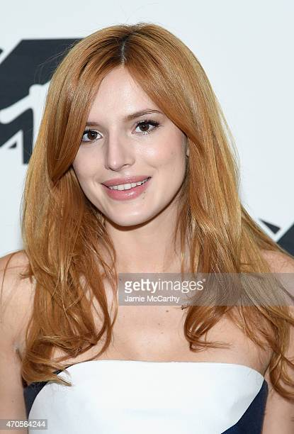 Bella Thorne attends the MTV 2015 Upfront presentation on April 21 2015 in New York City