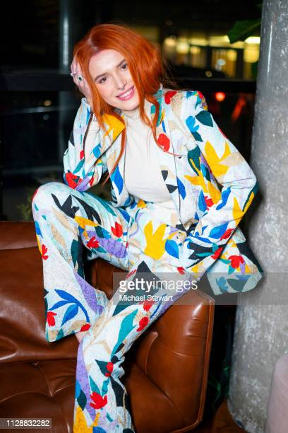 Bella Thorne attends the Prabal Gurung after party dinner at Baar Baar on February 10 2019 in New York City