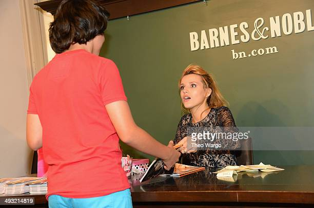 Bella Thorne attends the Seventeen Magazine June cover celebration at Barnes Noble Union Square on May 22 2014 in New York City