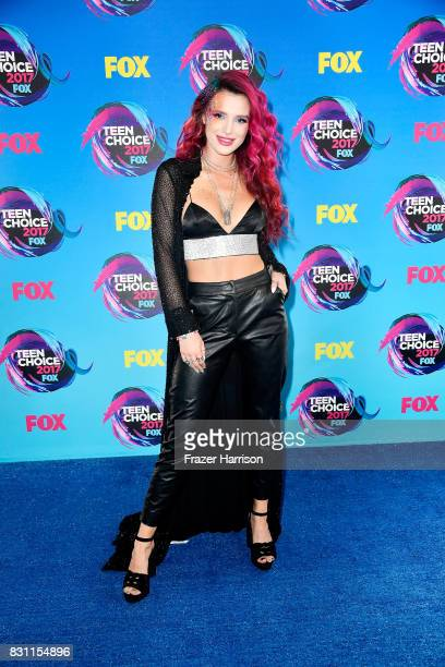 Bella Thorne attends the Teen Choice Awards 2017 at Galen Center on August 13 2017 in Los Angeles California