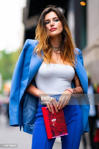 Bella Thorne is seen in Chelsea on July 23, 2019 in New York City.