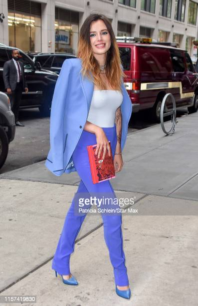Bella Thorne is seen on July 23 2019 in New York City