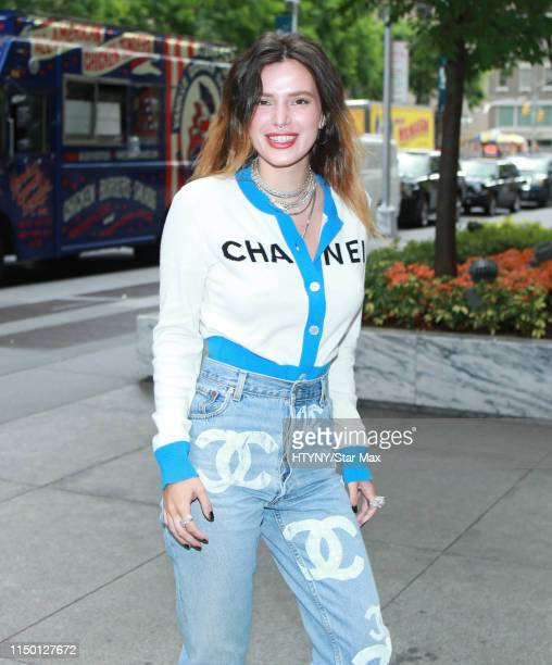Bella Thorne is seen on June 14 2019 in New York City