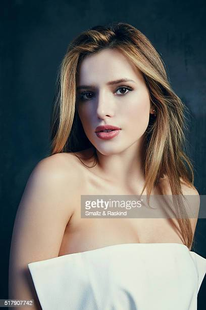 Bella Thorne poses for a portrait in the Getty Images SXSW Portrait Studio Powered By Samsung on March 13 2016 in Austin Texas