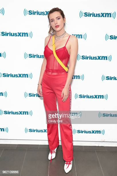 Bella Thorne visits the SiriusXM Studios on May 24 2018 in New York City
