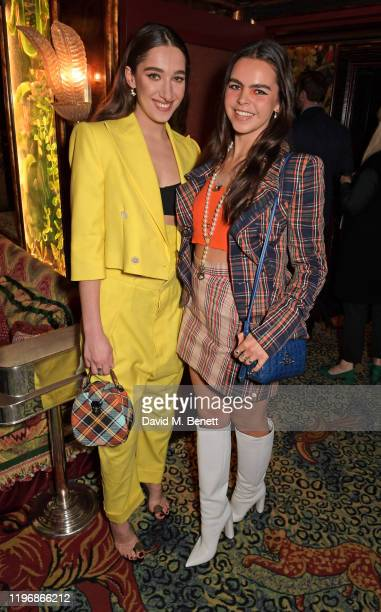 Bella Tilbury and Bee Beardsworth attend the 'Country Town House Great British Brands' party at Annabel's on January 27 2020 in London England