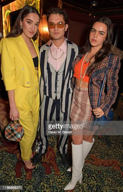 Bella Tilbury Rafferty Law and Bee Beardsworth attend the 'Country Town House Great British Brands' party at Annabel's on January 27 2020 in London...