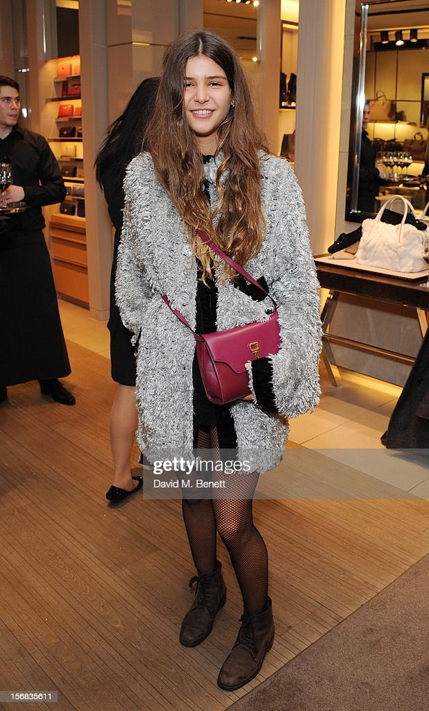Bella Yentob attends 'Tod's Vendanges on Bond' at the Tod's Bond Street Boutique on November 22, 2012 in London, England.