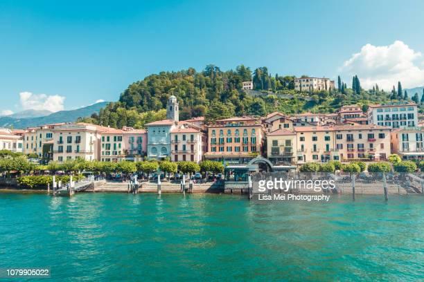 bellagio, lake como - lake como stock pictures, royalty-free photos & images